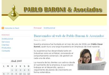 Web Pablo Baroni y Asociados