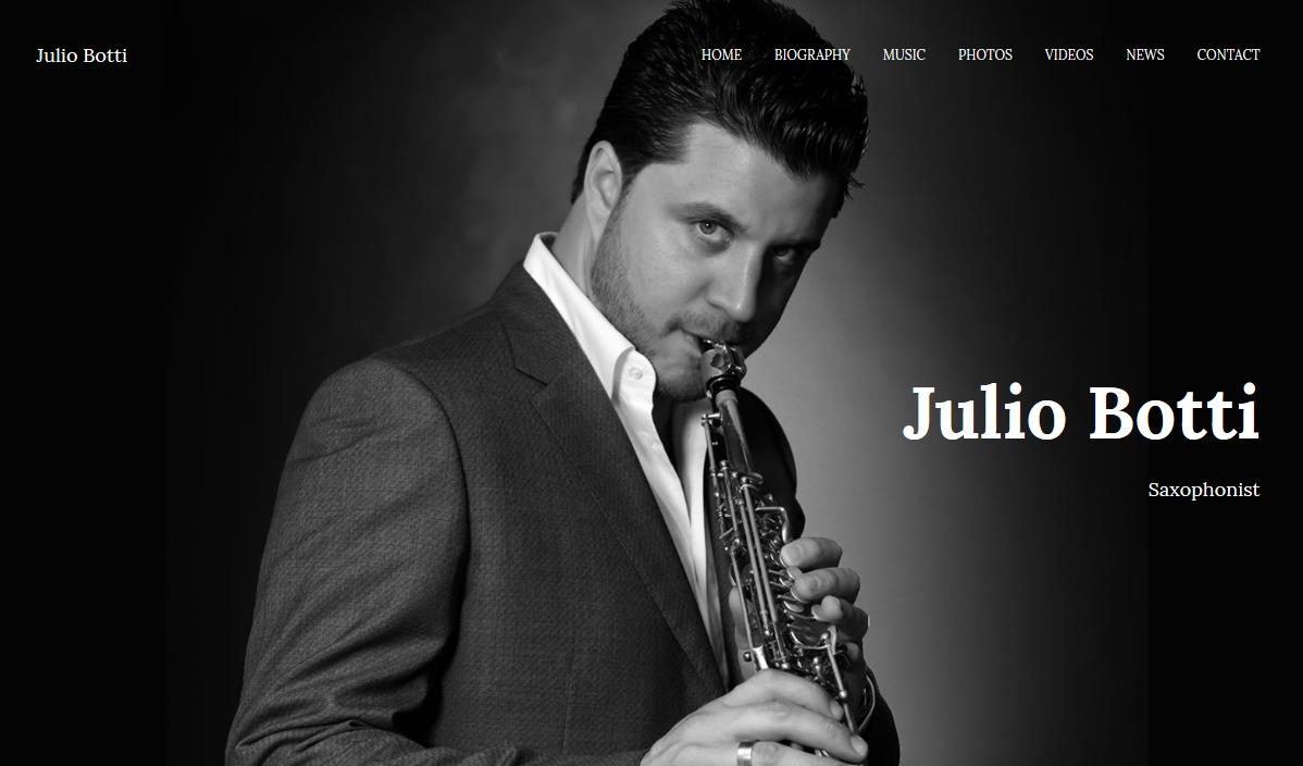 Nuevo sitio web de Julio Botti