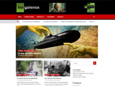 Sitio Web Los Galenos